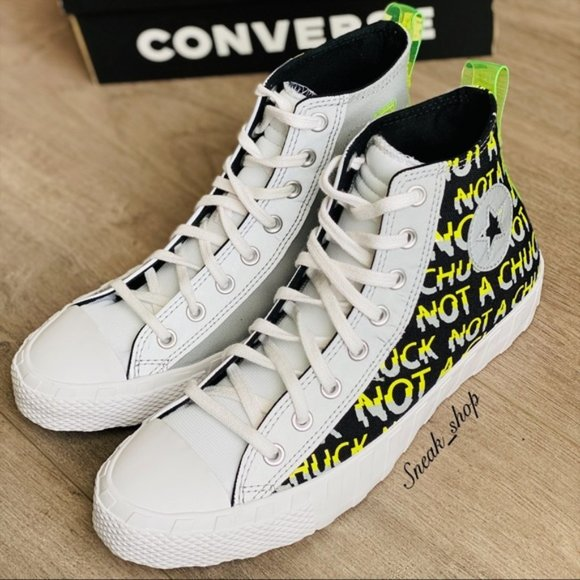 NWT Converse Hi-Vis UNT1TL3D Hi Mens Shoes